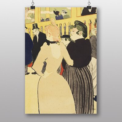 "Big Box Art ""Two Women"" by Henri de Toulouse-Lautrec Art Print"