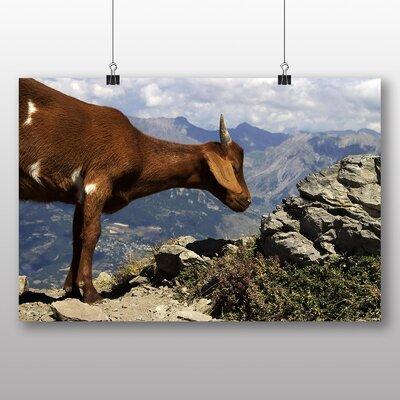 Big Box Art Goat No.2 Photographic Print on Canvas