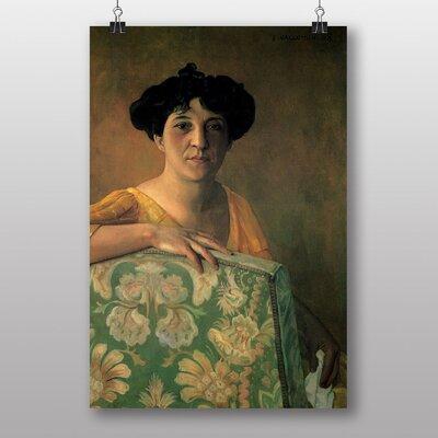 Big Box Art Portrait of Gabrielle by Felix Vallotton Art Print