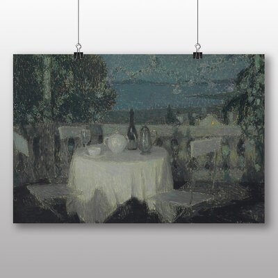 Big Box Art 'Table in the Morning' by Henri Le Sidaner Art Print