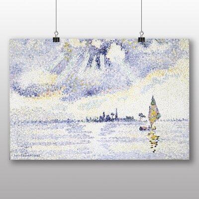 Big Box Art 'Sunset on the Lagoon' by Henri Edmond Cross Art Print