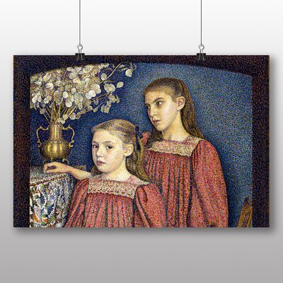Big Box Art 'The Two Sisters' by Georges Lemmen Art Print