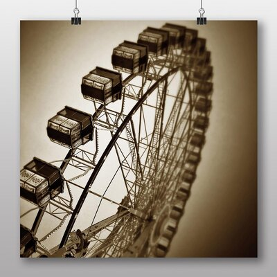 Big Box Art Ferris Wheel Fair Carnival No.4 Photographic Print