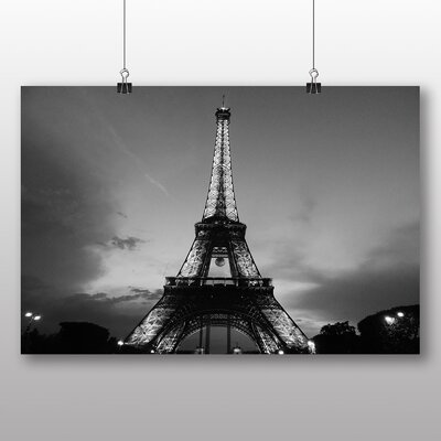 Big Box Art Eiffel Tower Paris France No.2 Photographic Print