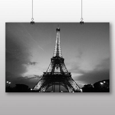 Big Box Art Eiffel Tower Paris France No.2 Photographic Print on Canvas