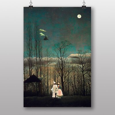 "Big Box Art ""Carnival Evening"" by Henri Rousseau Art Print"