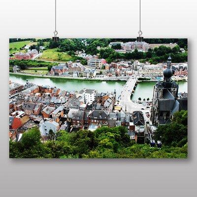Big Box Art Dinant Belgium Photographic Print on Canvas