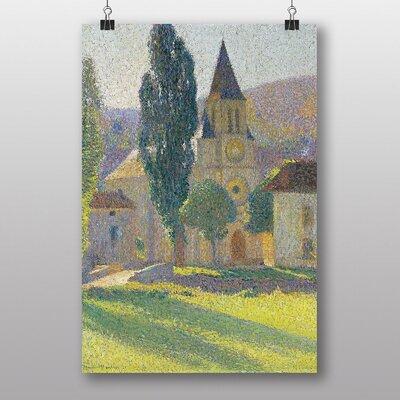 "Big Box Art ""The Church of Labastides Green"" by Henri Martin Art Print"