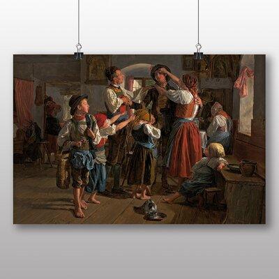 Big Box Art 'The Conscripts farewell' by Ferdinand Georg Waldmuller Art Print