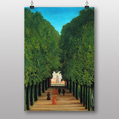 Big Box Art The Avenue in the Park at Saint Cloud by Henri Rousseau Art Print