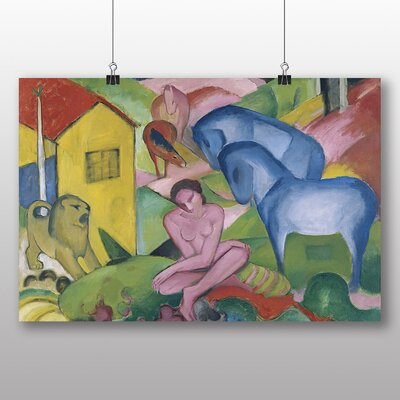 Big Box Art 'The Dream' by Franz Marc Art Print