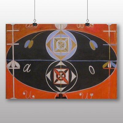 Big Box Art Abstract No.2' by Hilma af Klint Art Print