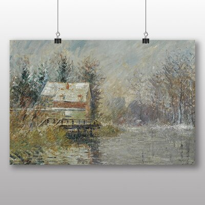 Big Box Art 'House on the Edge of the Water' by Gustave Loiseau Art Print