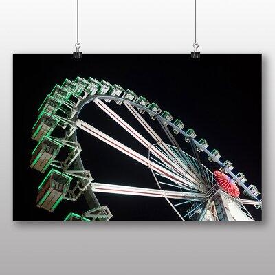 Big Box Art Ferris Wheel Fair Carnival No.2 Photographic Print
