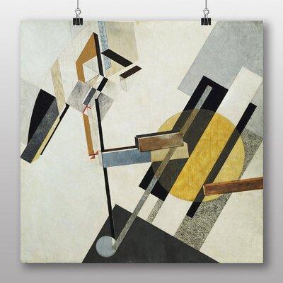 Big Box Art Proun 19d' by El Lissitzky Art Print