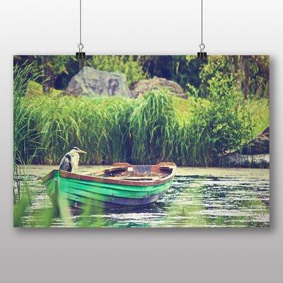 Big Box Art 'Heron Bird on a Boat' Photographic Print