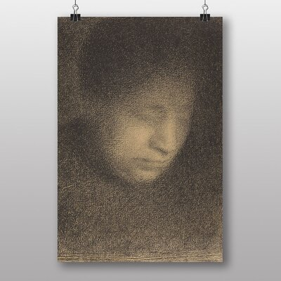 """Big Box Art """"The Artists Mother"""" by Georges-Pierre Seurat Art Print"""