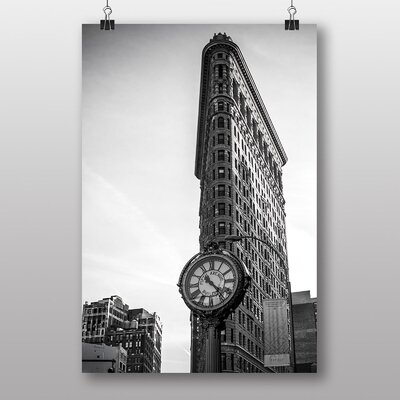 Big Box Art 'Flatiron Building New York City No.2' Photographic Print