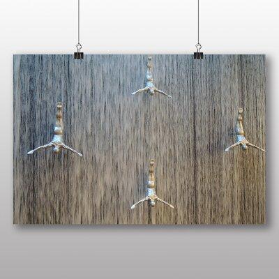 Big Box Art Dubai Waterfall Photographic Print Wrapped on Canvas