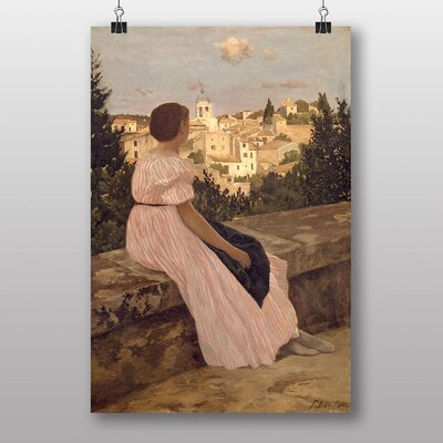 Big Box Art The Dress by Frederic Bazille Art Print