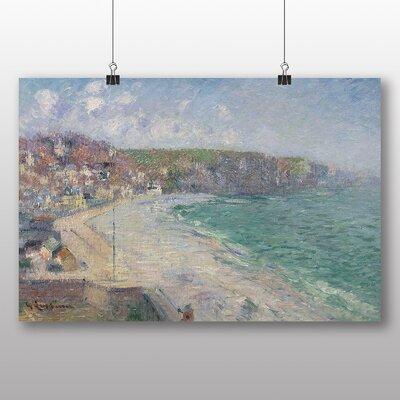 Big Box Art 'Beach and Cliffs' by Gustave Loiseau Art Print