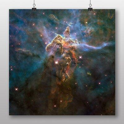 Big Box Art Eagle Nebula Cluster of Stars Space No.2 Graphic Art on Canvas
