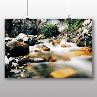 Big Box Art Forest Stream No.1 Photographic Print on Canvas