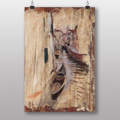 """Big Box Art """"Venice Sketch"""" by Giovanni Boldini Art Print"""