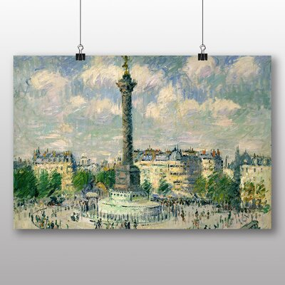 Big Box Art 'The Place of the Bastille' by Gustave Loiseau Art Print