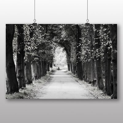 Big Box Art Forest Avenue Photographic Print on Canvas