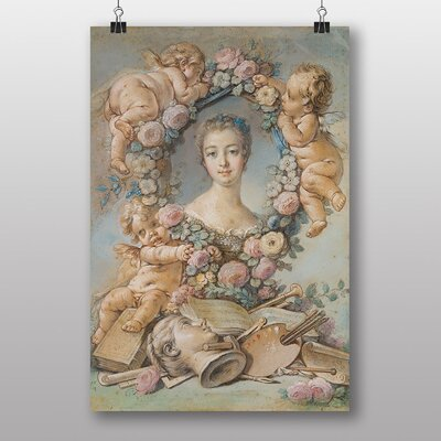Big Box Art Madame Pompadour by Francois Boucher Art Print