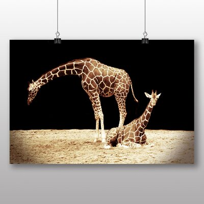 Big Box Art Giraffe No.4 Photographic Print