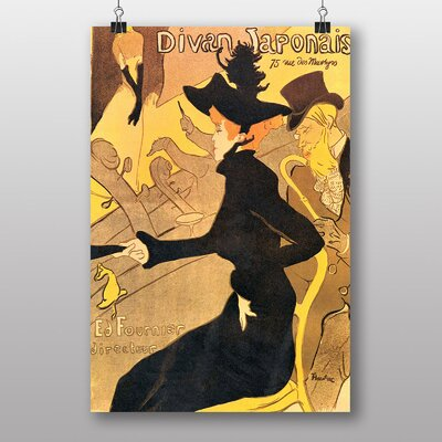 """Big Box Art """"Divan Japonais"""" by Henri de Toulouse-Lautrec Art Print"""