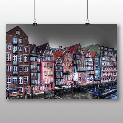 Big Box Art Hamburg Port Germany Photographic Print
