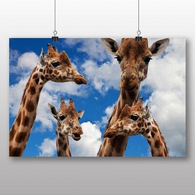 Big Box Art Giraffes No.4 Photographic Print