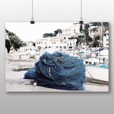 Big Box Art 'Fishing Net in a Fishing Town' Photographic Print