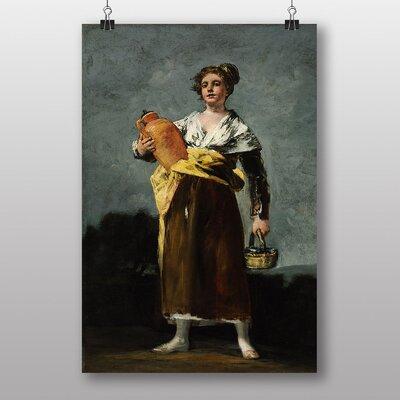 "Big Box Art ""The Water Carrier"" by Francisco De Goya Art Print"