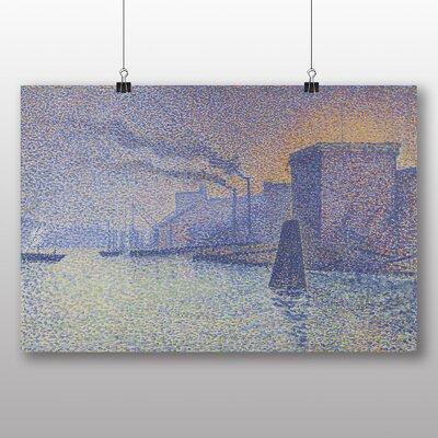 Big Box Art 'The Docks' by Georges Lemmen Art Print