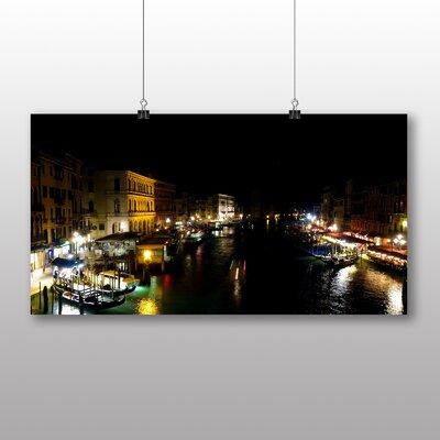 Big Box Art Gondolas Venice Italy No.3 Photographic Print on Canvas