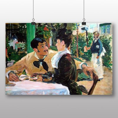Big Box Art 'At Father Lathuille' by Edouard Manet Art Print