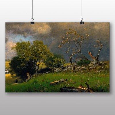 Big Box Art 'Landscape No.2' by George Innes Art Print
