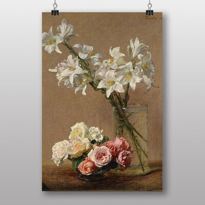 Big Box Art Flowers by Henri Fantin-Latour Art Print