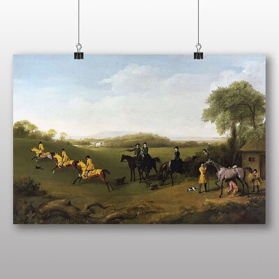 Big Box Art 'Racehorses Excersising' by George Stubbs Art Print