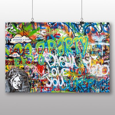 Big Box Art Graffiti Art Graphic Art