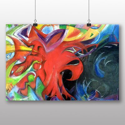 Big Box Art 'Fighting Forms No.2' by Franz Marc Graphic Art