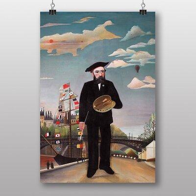 "Big Box Art ""Self Portrait"" by Henri Rousseau Art Print"