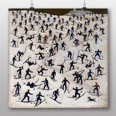 Big Box Art 'Skiers' by Franz Sedlacek Art Print