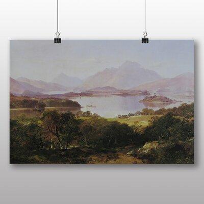 Big Box Art 'Horatio in Loch Lomand' by Horatio McColluch Art Print