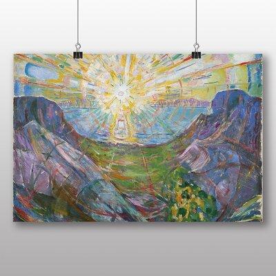 Big Box Art 'The Sun' by Edvard Munch Art Print