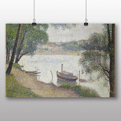 Big Box Art 'Jatte' by Georges Pierre Seurat Art Print